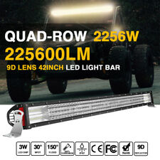 42 INCH LED LIGHT BAR COMBO FOR Ford CHEVY DODGE RAM OFFROAD SUV PK TRI ROW 40""