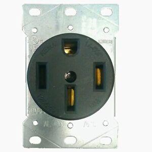 NEMA 14-50R Flush MOUNT  Receptacle Power Outlet 50A 250V Female Plug