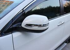 Chrome Door Rearview Mirror Strip Cover Trim For Honda CRV CR-V 2012-2016