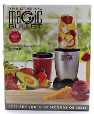 Brand New The Original MAGIC BULLET 11 Piece Set Blender & Mixer Silver #MBR1101