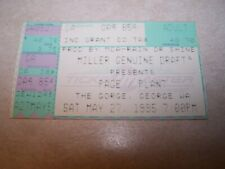 Led Zeppelin Robert Plant and Jimmy Page concert ticket from 1995