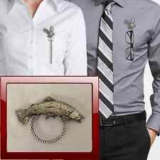 Trota di mare pp-f04 Peltro Perno SPILLA DROP Hoop titolare per occhiali, penne, gioielli