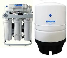 RO Light Commercial Reverse Osmosis Water Filter System 400 GPD RO Booster Pump