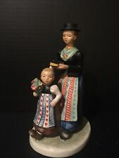 Rare 1957 Goebel Figurine Hahn 503 Girl and Woman Religious Procession