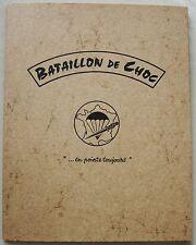Bataillon de Choc En pointe toujours Cap Maurice GUERNIER illu Yves BRAYER