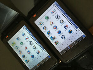 Two (2) Sony Clie PEG-TH55 PDAs Hendheld PALM OS  Parts Or Repair + Accessories
