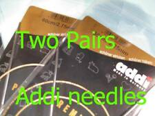"""2px 120cm 47"""" ADDI Premium Circular Knitting Needle Turbo Knit"""