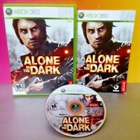 Alone in the Dark - Microsoft Xbox 360 Rare Game Complete Good ! Tested Works!