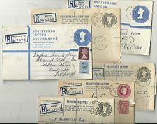 * 1952/76 6 Lincolnshire registrati BUSTE Grantham Westgate SUB OA Boston