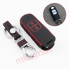 Key Fob Holder Case Bag Shell Cover Trim For Mazda 2 3 CX-3 CX-4 CX-5 Accessory