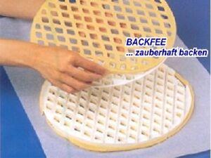 Gitterstanze rund 30 cm Kunststoff z.B. für Linzergitter
