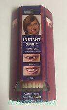 Instant Smile Deluxe Small Fake Teeth Novelty Beauty Cosmetic Top Veneer