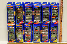 60 Hot Wheels 1997 Diecast Cars Speed Demons G-Force Rad Rigs Flag Flyers +++NOC