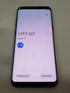 Read* Samsung Galaxy S8 - Black - 64GB (U.S. Cellular Unlock) ~44054