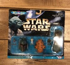 ~Star Wars~Micro Machines Collection 1 Boba Fett, Ackbar & Gamorrean Guard NEW