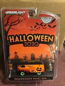 Greenlight Hobby Exclusive Volkswagen Panel Van 2020 Halloween GREEN MACHINE