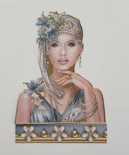 Die Cut Debbie Moore Art Deco Lady Grace Card Toppers Card Making