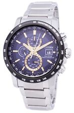Citizen Eco-Drive Radio Controlled Chronograph AT8124-83M Mens Watch