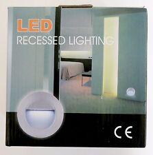 LED Recessed Lighting, Aluminium Body, Plastic Housing, Cool White Colour