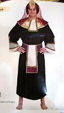 Egyptian Costume Adult Pharaoh Halloween Fancy Dress NIP complete 4 pieces L