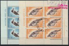 nouvelle-zélande 413C mini feuille-414C oblitéré 1960 Oiseaux (8882616