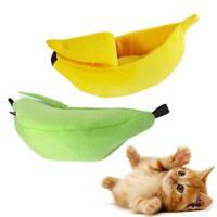 Pet Cat Hamster Ferret Banana Shape Hammock Hanging Cage Nest Bed House Soft