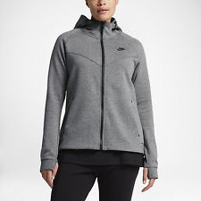 Nike WOMEN'S PLUS SIZE  Sportswear Tech Fleece Carbon Heather SIZE 2XL BRAND NEW
