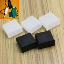 5Pcs USB Stick Plug Anti Dust Cover Protection Cap Lid Cap Caps Cover ert