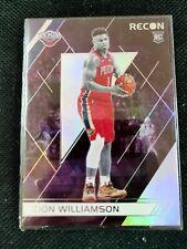Zion Williamson 2019-20 Panini Chronicles RC Rookie Recon #292 Pelicans SP Rare
