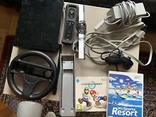 nintendo wii console bundle black