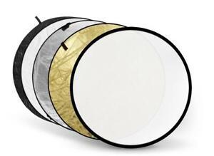 5 in 1 Collapsible Multi Circular Light Reflector 80cm - Photo Studio Video