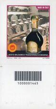 1465 CODICE A BARRE LATO SINISTRO ACETO BALSAMICO 0,60 ANNO 2012