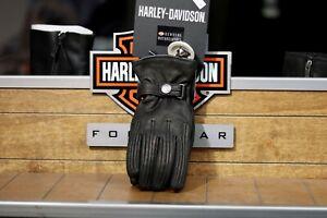 Harley-Davidson Women's Bliss Leather Riding Gloves 98370-17EW