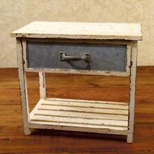 SALE /Country new small aged table with drawer / country house item