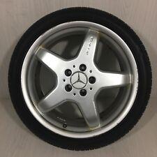 """Single Genuine 18"""" Mercedes AMG CLK W209 REAR wheel & 255/35R18 tyre"""