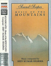 Shiv Kumar Sharma ‎Music Of The Mountains CASSETTE ALBUM World Hindustani NewAge