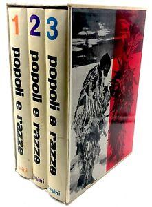 Hugo A. Bernatzik POPOLI E RAZZE Europa Africa Asia Oceania America 3 volumi