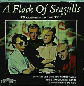 NEW; A FLOCK OF SEAGULLS - 20 CLASSICS OF THE 80's CD.SEE MY OTHER CD'S BY THEM.