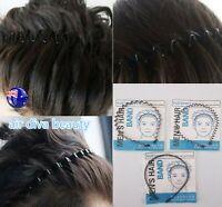 1x AU Men Man Women Yoga Wavy Metallic Sports Hair band Headband hoop Hairband