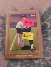 2010 (YANKEES) Topps Turkey Red #TR28 Mickey Mantle