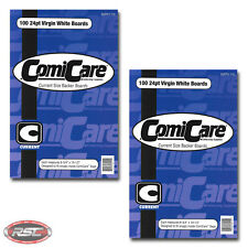 """200 - ComiCare CURRENT Comic Book Backer Boards - 6-3/4"""" x 10-1/2"""" - Ships Free!"""