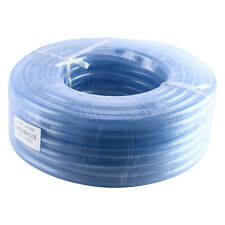 1 Set 100FT Industrial PVC Tube High Pressure Braided Clear Flexible Water Hose