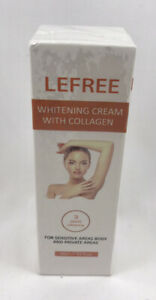 LEFREE Whitening Cream with Collagen - Lightening Brightening Skin 60ml