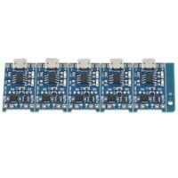 5 Pcs 1A 5V Micro-USB TP4056 Module de Carte de Chargeur de Batterie au Lith Q2V