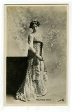 c 1907 British Edwardian MAUDIE SOURAY Cute Theater Beauty photo postcard