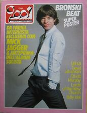 CIAO 2001 8 1985 Mick Jagger Billy Idol UB 40 Elliot Murphy Romeo Void Sylvester