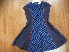 Girls KC Parker by Heartstrings Royal Blue Fit and Flare Dress Size 10 EUC