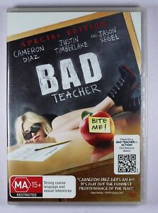 Bad Teacher DVD FREE POST