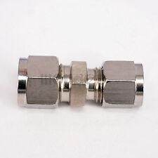 8mm x 10mm Tube OD 304 Stainless Steel Reducer Compression fitting Connector