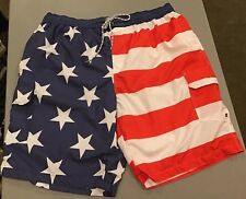 The Foundry Big & Tall American Flag Bathing, Swim Suit. Size 2Xl New with tags
